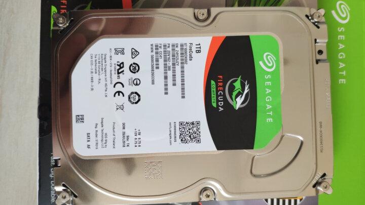 希捷(Seagate)1TB 64MB 7200RPM 台式机机械硬盘 SATA接口 希捷酷玩FireCuda系列(ST1000DX002) 晒单图