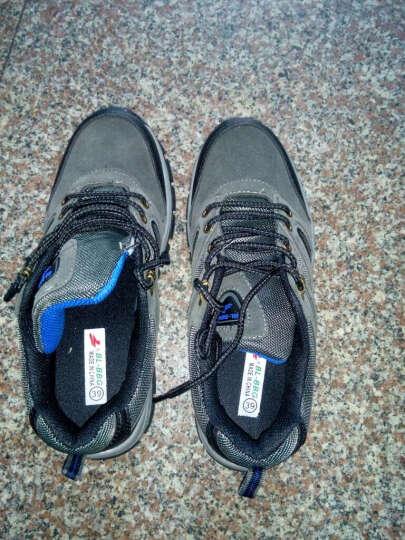 DESHU BL-BBG徒步鞋男 春夏季男鞋 户外登山鞋 减震透气徒步鞋男鞋防滑运动旅游鞋 168灰色 40 晒单图