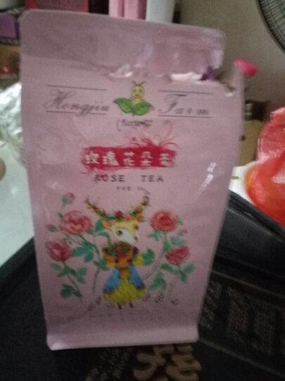 洪久农场 花草茶 玫瑰花茶一朵一杯袋装花冠茶 平阴玫瑰花朵 女性养生健康茶 玫瑰花冠1袋装 晒单图