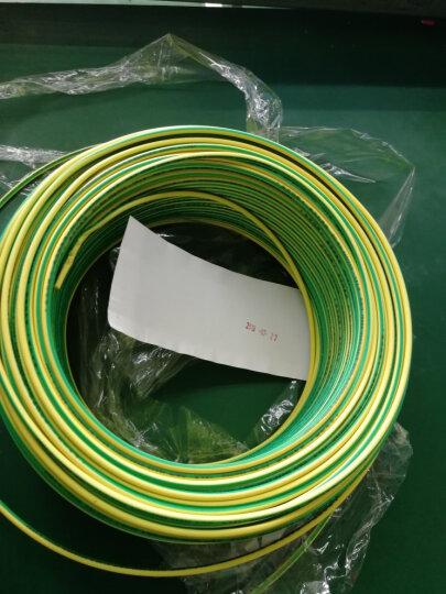 金龙羽 电线电缆ZR/ZC BVR1.5平方 国标铜芯线单芯多股软线 阻燃家装线100米 阻燃/黑色多股 (软线) 零线 晒单图