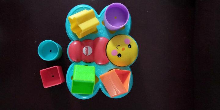 费雪(Fisher Price)益智玩具 积木盒 叠叠乐小蝴蝶配对盒CDC22 晒单图