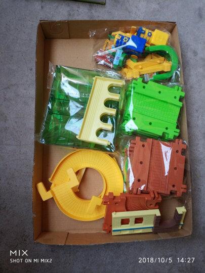 育儿宝 拖马斯小火车套装多层轨道车赛男孩玩具小孩 电动儿童玩具男4-6岁生日礼物小汽车 创意轨道欢乐谷火车轨道 晒单图