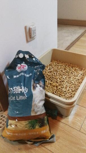 怡亲猫砂除臭 天然松木猫砂5L 吸湿环保猫沙 24省免 晒单图