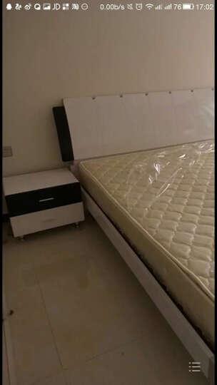 蕾希尔(LEIXIER) 蕾希尔 双人床 现代简约板式床 卧室家具套装组合 气动高箱储物床 高箱床+床头柜*2 1800*2000 晒单图