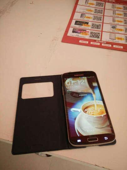 韩菲琪 智能保护套手机套适用于三星G7106/g7102/g7108v/g7109皮套 壳 牛仔蓝 晒单图