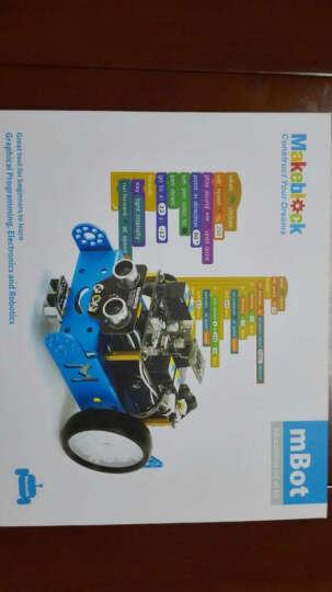 Makeblock官方直营店 mBot教育机器人套件 可编程智能机器人 蓝牙遥控 蓝牙版 晒单图