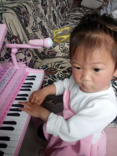 贝恩施 益智玩具儿童架子鼓 多功能益智玩具 早教乐器玩具琴 带麦克风小凳子 爵士鼓+3槽充电套装+螺丝刀 晒单图