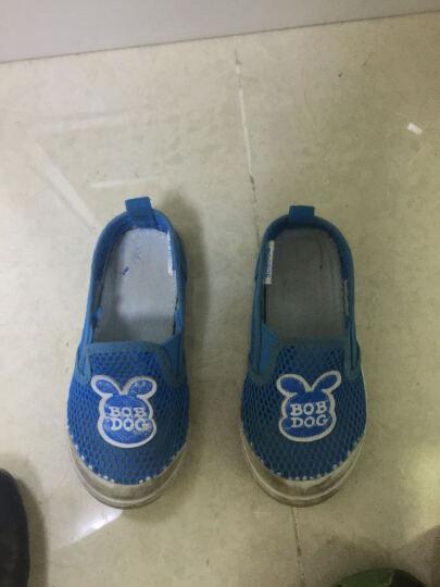 巴布豆(BOBDOG)童鞋透气儿童运动鞋春季男女童休闲单网鞋 粉红 135码/鞋内长13.5cm 晒单图