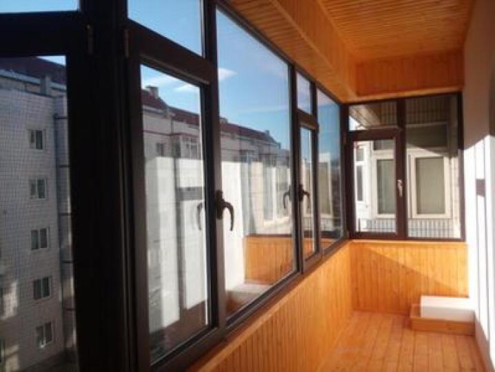 凤铝(FENGLU) 凤铝断桥铝门窗 封阳台铝合金门窗 推拉平开 隔音门窗 落地窗 下单测量 晒单图