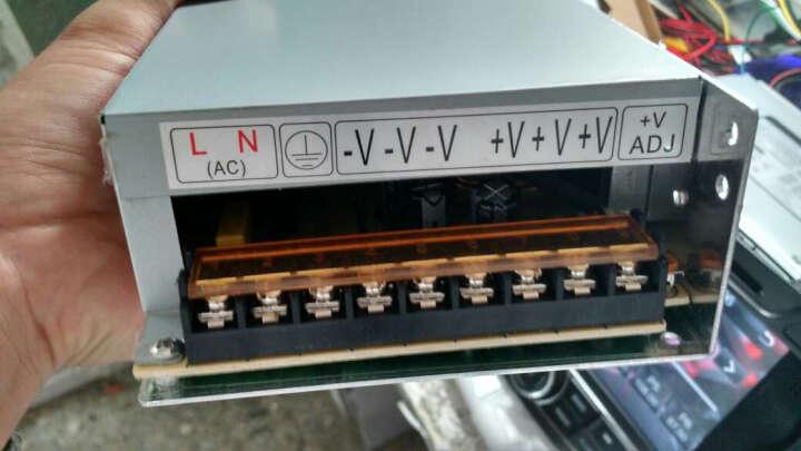 视明通 DC12V监控电源摄像头电源稳压开关电源 集中供电 监控电源适配器LED灯适配 12V20A 晒单图