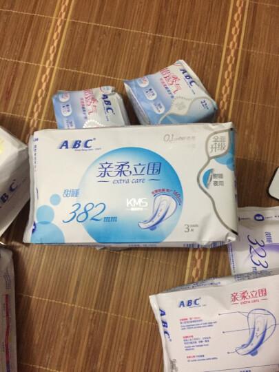 ABC KMS棉柔系列卫生巾 0.1cm轻透薄夜用323mm*3片 晒单图