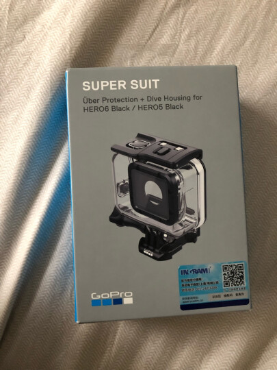 GoPro 运动相机配件 防水壳 潜水壳 Super Suit 超级防护 晒单图