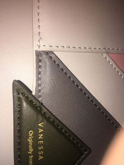 【品牌特卖】VH女包细微瑕疵产品特卖 素穗圆锁小方包(浅粉) 晒单图