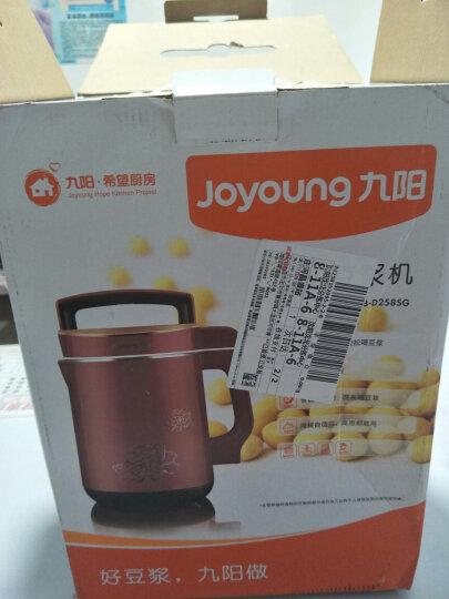 九阳(Joyoung)豆浆机1.6L大容量免滤双预约DJ16B-D258SG 晒单图