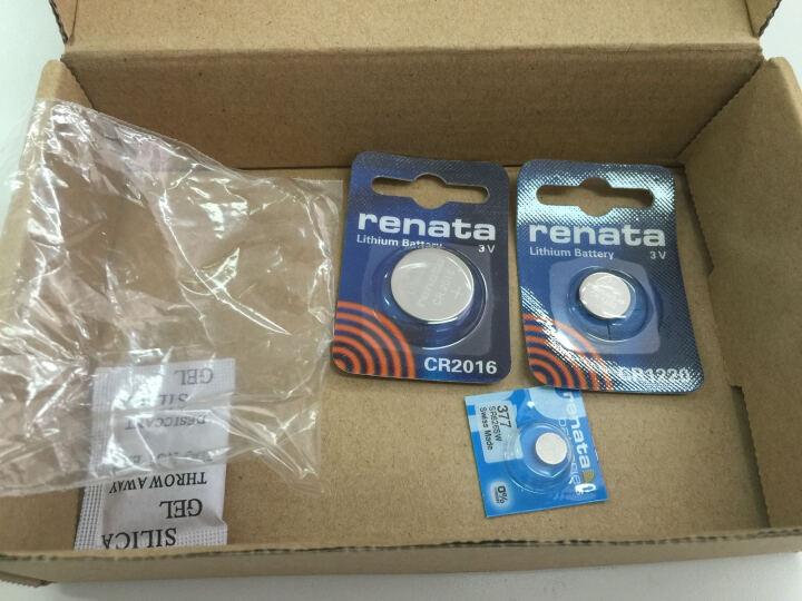 瑞纳达(RENATA) 汽车遥控器纽扣电池CR2016 汽车钥匙3V锂电池 卡西欧电池 晒单图