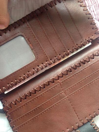 BRITTO 布里托2017新款钱夹女士钱包长款手拿包卡包大容量零钱包个性时尚学生钱包 新一天 晒单图