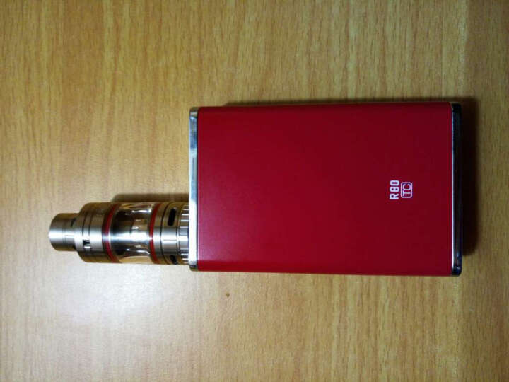 R80电子烟套装 80W功率烟盒 可升级克雷托 内置电池充电电子烟 戒烟产品 电子烟戒烟 蒸汽 红色 标准套装 晒单图