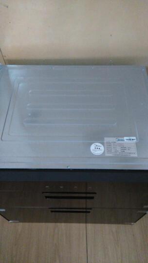 美的(Midea)二星级 高温独立双模 家用嵌入式消毒柜/碗柜90Q15 晒单图