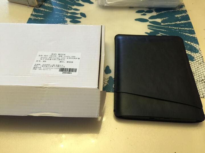 Kindle voyage 6英寸超高清电子墨水屏 4G 电子书阅读器旗舰版 黑色 【简约博雅黑保护套套装】 晒单图