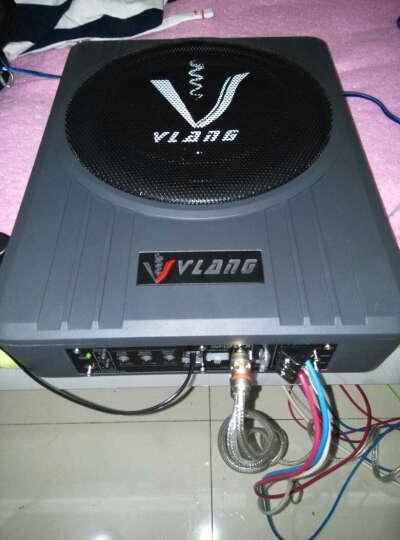 XdIob汽车音响低音炮超薄10英寸车载音箱带功放有源重低音喇叭12V超薄低音炮 10英寸黑金刚(单个) 晒单图