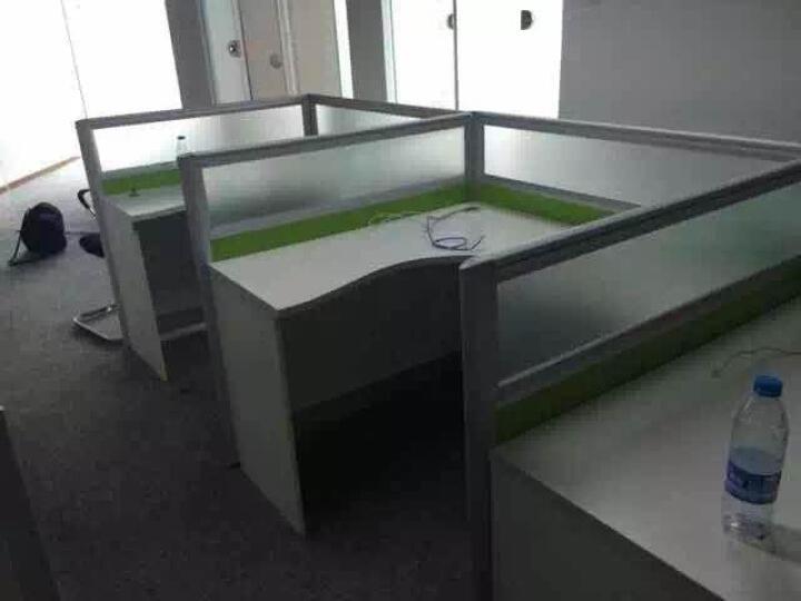 旺辉伟业 北京办公家具办公桌椅组合员工工位现代简约职员桌4人位屏风隔断组合卡座电脑桌可定制 工字型2人位 晒单图
