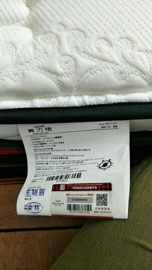 美力格(Medicoil)床垫   乳胶床垫 弹簧床垫 整网护脊 软硬适中 防满针织面料 紫奈丽 舒睡版 1800*2000 晒单图