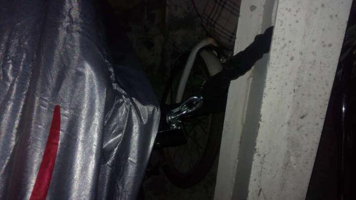 玥玛电动摩托车锁链条锁链子锁电瓶车自行车空转防盗锁铁链锁超B级抗液压剪 6210 晒单图