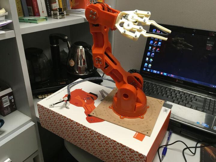 Arduino Braccio机械臂 意大利原装进口 机械手臂机器人模型 Arduino Braccio机械臂 晒单图