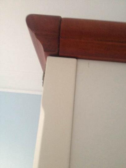 宜捷家居 美式乡村衣柜 地中海实木衣柜 欧式田园大衣橱 YF-906 三门衣柜 晒单图