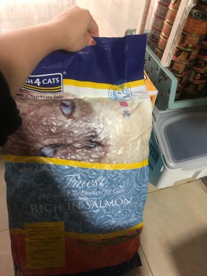 【买大包送猫包】海洋之星三文鱼猫粮无谷全猫粮 全猫粮6kg 晒单图