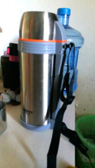 哈尔斯 1800ml真空保温户外运动大容量广口旅行热水壶暖瓶LG-1800-5 晒单图