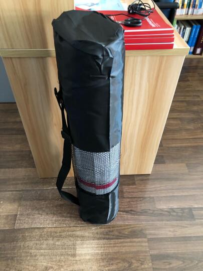 弥雅(MIYA UGO)升级版瑜伽垫185*80cm 加长加宽加厚健身运动垫子 10mm深蓝色(含绑带网包) 晒单图