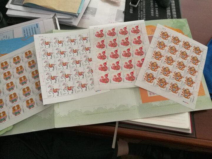 滨恒邮币 第三轮生肖邮票 大版票 整套 生肖邮票大版票 2004-2015年全套 热卖500件! 2012年 龙大版 晒单图