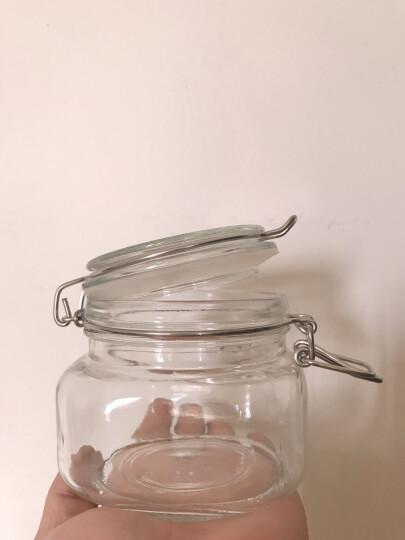 贸号(MOHO-ZOOM) 玻璃瓶子密封罐透明储蓄罐杂粮储物罐食品腌制罐蜂蜜瓶泡菜坛子 方形1500ml 晒单图