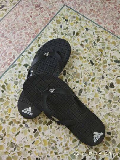 阿迪达斯adidas 官方 游泳 男子 拖鞋 1号黑色 AQ6117 如图 40 晒单图