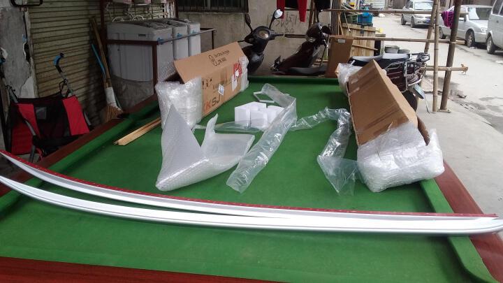 越野兵 本田XRV缤智侧踏板保险杠行李架 XR-V缤智车顶架脚踏板前后护杠 改装专用 保险杠--适用XRV - 晒单图