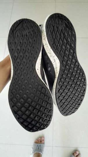李宁官网休闲鞋男鞋3K LNC II云减震透气运动鞋ALAK031-1/-2 檀黑色/火龙红 41 晒单图