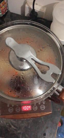 荣事金养生壶2.5L多功能大容量玻璃加厚电水壶烧水壶电热水壶 花茶壶冲奶壶煮茶壶黑茶煮茶器18大功能 喜庆中国红 晒单图