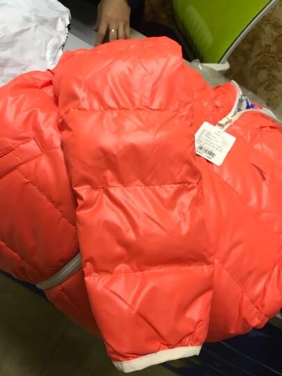 安踏 儿童羽绒服 女童棉衣短款童装外套双面穿保暖棉服加厚冬装 -2木兰粉 150cm 晒单图