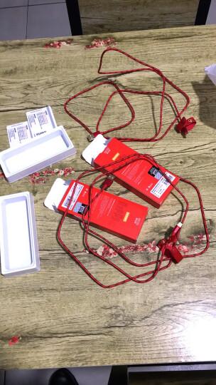 图拉斯 苹果数据线 iPhone6s/X/7plus/8手机快充充电器线Xs Max/XR电源USB 亮黑色【黑金款】1.68米-图拉斯原装 晒单图