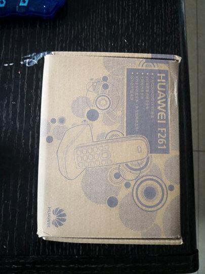 华为(HUAWEI)F261 无线固话座机 无绳 插卡电话机 电信手机卡(白色) 晒单图