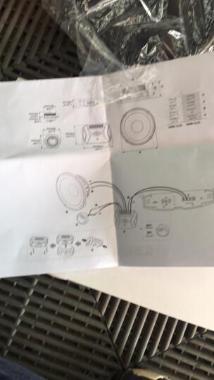 JBL 汽车音响改装车载低音喇叭功放高音同轴套装6.5英寸两分频组合 【整车升级①】四门套装+功放*2+低音炮 晒单图