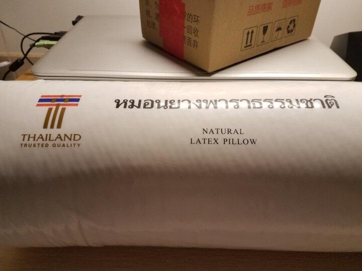 paratex 泰国进口天然乳胶枕头 枕芯 人体工学型乳胶枕 94%乳胶含量 中检CCIC溯源 送礼红色礼盒装 晒单图