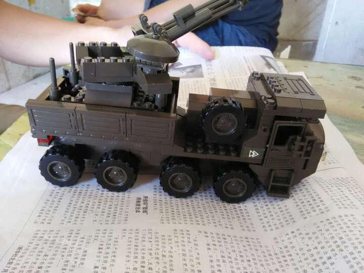 小鲁班 城市警察局兼容乐高直升机特警拼装积木卡车男孩军事益智玩具6-10岁 绝地追捕 晒单图