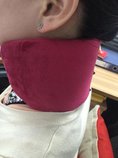 爱热舒(Li-Care) 艾灸电热护颈带 usb充电加热远红外线护颈护脖套 软式颈托护颈椎 调温定时颈罩+12V护膝毯(随机发货) 晒单图