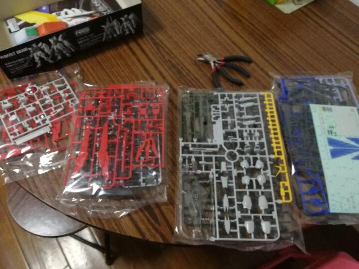 万代(BANDAI)高达Gundam拼插拼装模型玩具 RG版 17零式飞翼敢达EW版HGD-194380 晒单图
