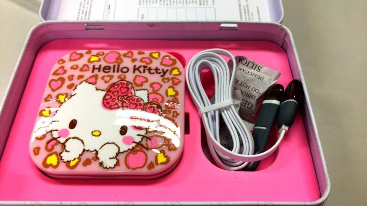 HELLO KITTY充电宝化妆镜led灯 生日礼物女情人节礼物送女友七夕礼物公司福利 甜蜜诱惑礼盒装KT1509 晒单图
