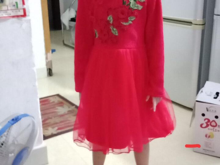 涵思儿童装裙子女童连衣裙夏款洋气儿童裙子新款韩版女童公主裙 气质纯白 110-参考身高95-105 晒单图