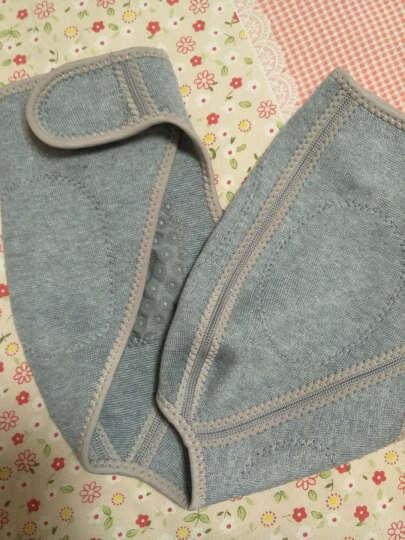 康舒 竹炭护肩 针织发热护肩保暖睡觉中老年肩周炎护肩带肩膀夏季男女士透气 灰色 M码(35-42cm) 晒单图