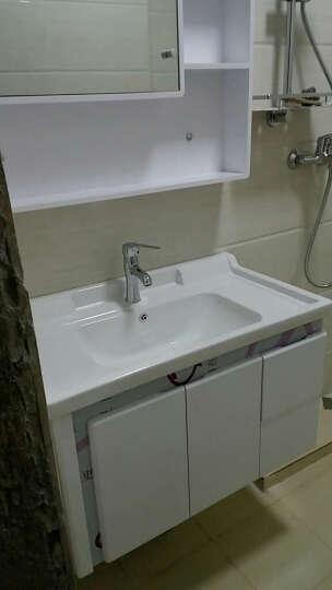 沐良 卫浴柜浴室柜组合洗漱台镜柜卫生间洗脸盆柜组合洗手盆柜吊柜小户型 80cm 晒单图
